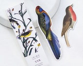 30 Pcs Stray Birds Of Memories Paper Card Bookmarks Sets