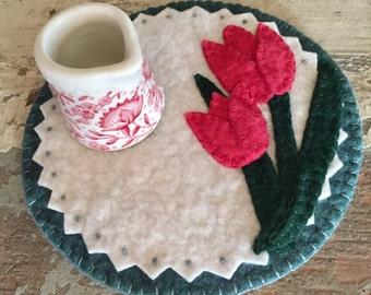 Tulip Candle Mat