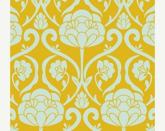 40% OFF SALE - Jacquard in Marigold (BE-6102) - Bespoken by Pat Bravo for Art Gallery Fabrics - By the Yard