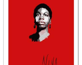 Jazz Print: Nina Simone