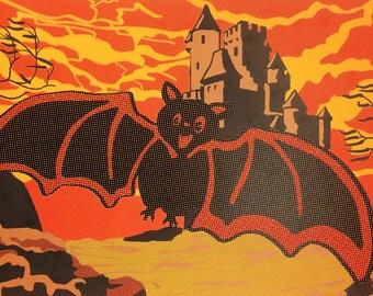 """Batty (Silkscreen Print) - 11"""" x 17"""""""
