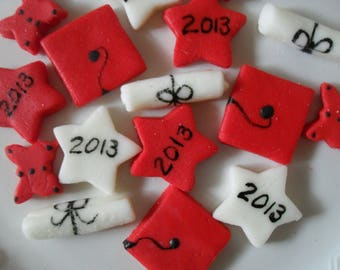 GRADUATION MINTS - Great for Graduation Celebrations - 100 Cream Cheese Mints