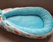 Custom babynest, baby bed, baby travel bed, baby cocoon, baby sleeping bed,made to order