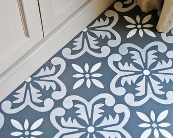 Large Fes Floor Stencil