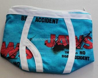 bigger boat underwear zipper purse