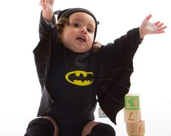 Baby costume BATMAN costume comfortable costumes for babies