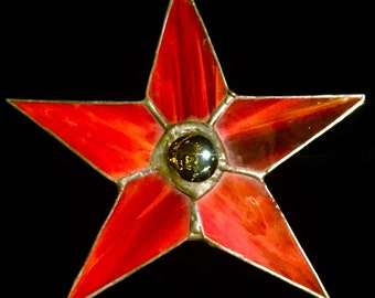 Stained Glass Star Two