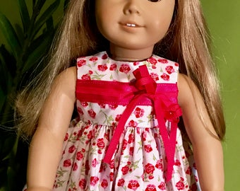 American Girl Doll or 18 Inch Doll Sundress w/ Big Bow