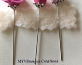 Hand made counting pins by MTV Designs Creations