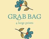 Grab Bag 4 large prints