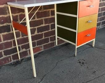 Midcentury Modern George Nelson Stealframe Desk