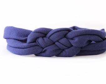 Sailor Knot Headband - Toddler Knot Turban - Top Knot Headband - Jersey Baby Headwrap - New Baby Gift - Baby Shower Gift - Jersey Headband