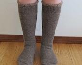 Extreme Alpaca wool socks - Super cozy warm and soft socks Size LARGE