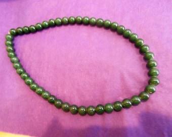 50 Jade Beads Jewelry Supply
