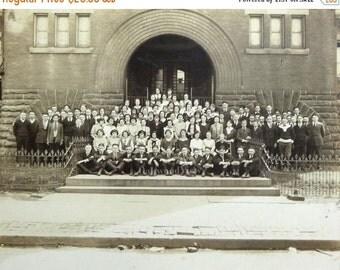 20% OFF 2 Pottstown PA School Class Portrait Cabinet Card Photographs c1920, Antique Ephemera Lot, FREE Shipping