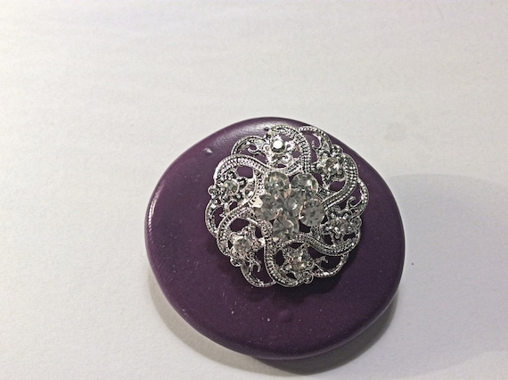 Brooch  silicone rubber mold