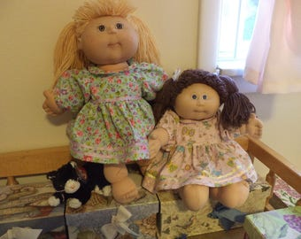 Dresses for 16 inch Cabbage Patch Doll, Doll Clothes, Ready to Ship