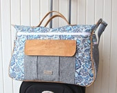 New! The Dogwood Travel Duffel bag - PDF Sewing Pattern (20% off release price)