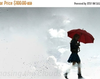 College Fund Sale Walking in the Clouds 16x24 Poster Print by Karen Clarke Photography
