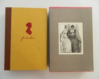 Pride and Prejudice by Jane Austen, Illustrations by Isabel Bishop.