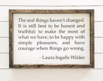 """Laura Ingalls Wilder quote 