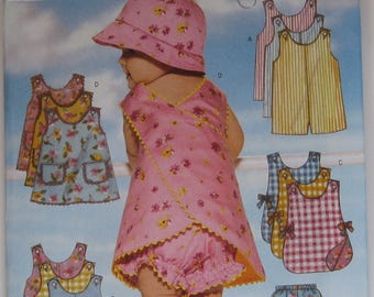 Butterick Baby Fashion Pattern Destash