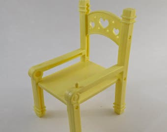 Vintage My Little Pony - Yello High-Chair - Baby Lickety Split - good condition