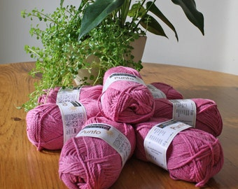 Schachenmayr Punto - Double Knitting Yarn Cotton/Acrylic Blend -- 50g Ball, 90 meters/98 yards