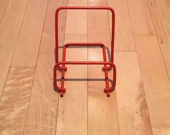 Orange Vintage Wire Cookbook Book Stand