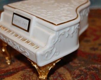 Porcelain Piano Etsy