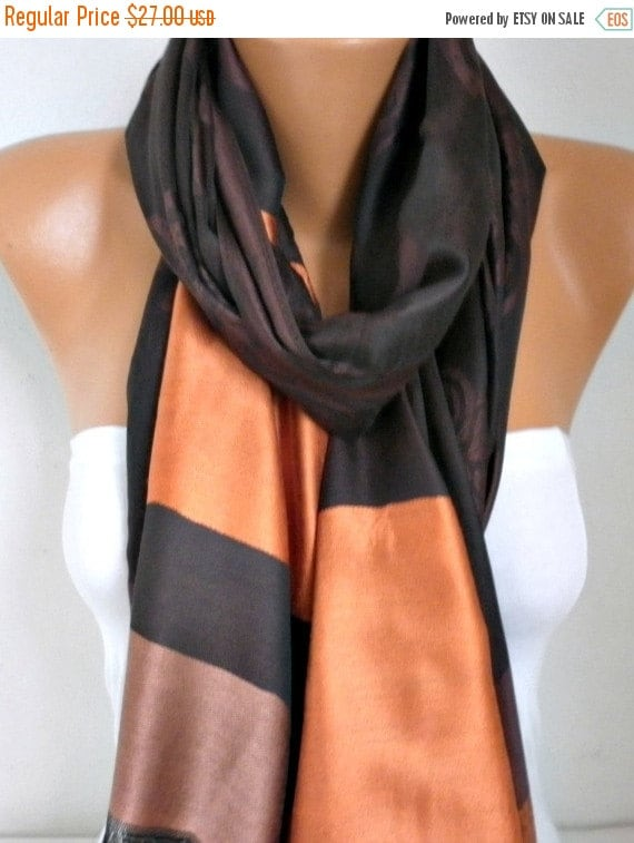 ON SALE --- Brown Tones Shawl, Wedding Shawl,Evening Wrap,Cowl, Oversize, Bridesmaid Gift, Gift Ideas For Her, Women Fashion Accessories Wom
