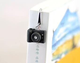 Personalized necklace Canon M3 Camera miniature / personalized gift /personalized Bookmark