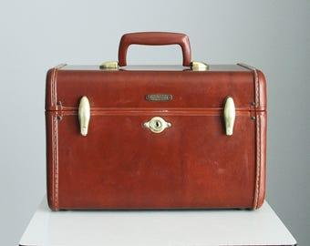 Samsonite Train Case, Samsonite Luggage Shwayder Bros. Style 4612, Vintage Cosmetics Case