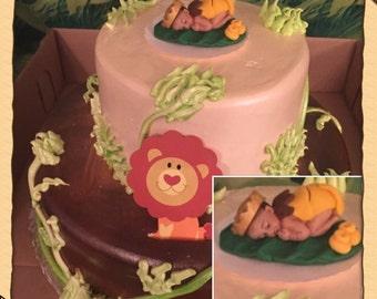 Lion cake topper Etsy