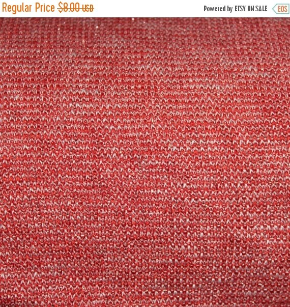 """Red Metallic Sweater Knit Fabric,Red Sweater Knit fabric,3 Way Stretch,Soft sweater knit fabric,58"""" Wide fabric,Apparel fabric,By the YARD"""