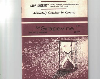 AA, Grapevine, September, 1967, magazine of Alcoholics Anonymous