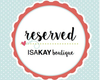 Reserved for