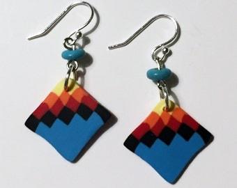 Southwest Style Earrings, Native American Style Earrings