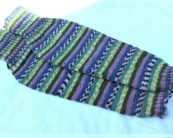 Hand knit women legwarmers, boot cuffs wool legwarmers boot toppers