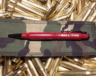 Maroon 308 Caliber ink pen groomsmen gift, fathers day or graduation gift for men sale free shipping