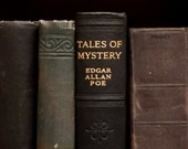 Vintage Edgar Allan Poe book Tales of Mystery and Imagination includes The Gold - Bug and The Fall of the House of Usher and other stories