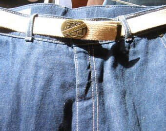 Vintage Oleg Cassini Jeans with Belt