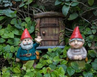 Welcome Gnome, Garden Gnome Photo, Gnome Print, Gnome Art, Gnome Photography, Whimsical Art, Nursery Photo, Fairy Garden Photography