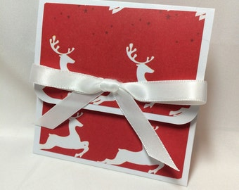 Rudolph and Company Christmas Gift Card Holder