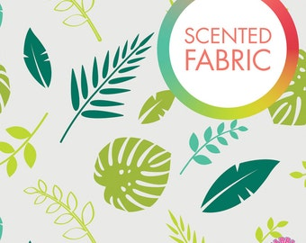 140173310 - Scented Fabric - Tropical Leaf Print
