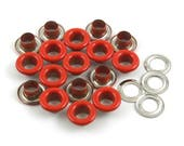 Size: 10*5*5mm (OD * ID * Height) Red Round Eyelet Grommet (RED-RG10)