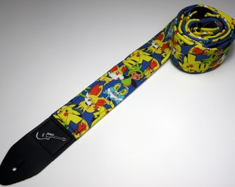 Handmade double padded popular anime handmade guitar strap - This is NOT a licensed product
