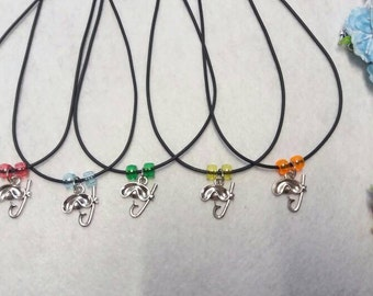 10 Scube Diver Necklaces Party Favors