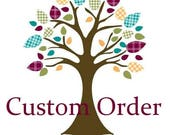 Custom order for Paula (paulajeansgarden)
