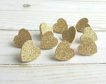 Gold Glitter Heart Thumb Tacks. Push Pins. Glitter Hearts. Heart Push Pins. Memo Board. Office Accessories. Heart Tacks. Dorm Room Decor.